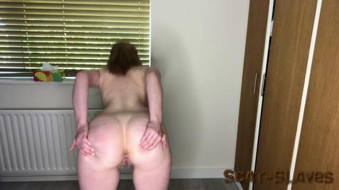 Anal Beads: (Hayley-x-x) - Shitting standing up & offering you poop [FullHD 1080p] (928 MB)