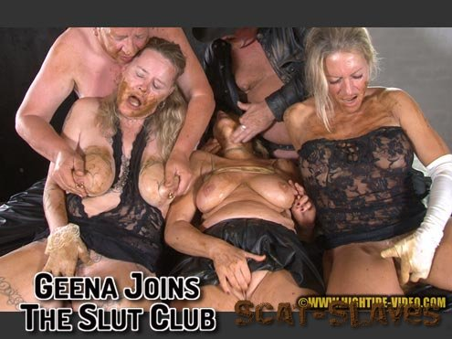 Hightide-Video.com: (Geena, Molly, Sexy, 2 males) - GEENA JOINS THE SLUT CLUB [HD 720p] (594 MB)