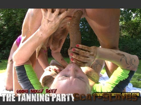 Hightide-Video: (Geena, Molly, Sexy) - THE TANNING PARTY [HD 720p] (1.10 GB)