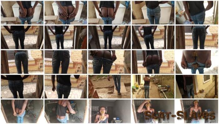 Panty: (Pinky_Prada) - Jeans pooping and shit eating [FullHD 1080p] (269 MB)
