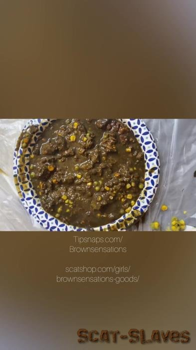 Solo: (Brownsensations) - Smearing my dinner [UltraHD 2K] (540 MB)