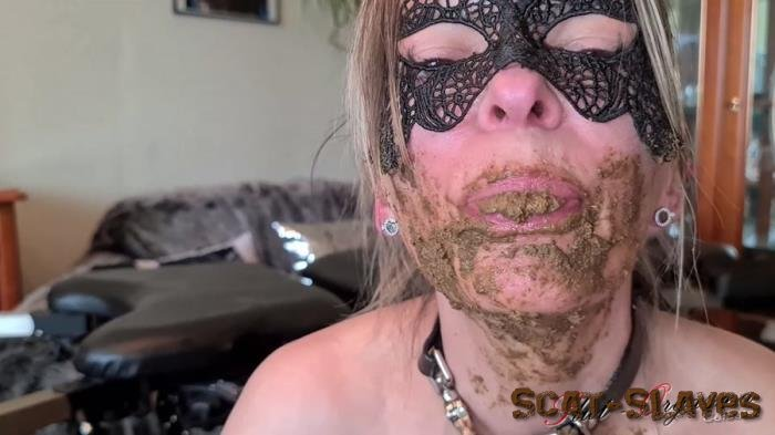 Extreme: (SlutOrgasma) - Pooping, scat smearing, swallowing and dildo [FullHD 1080p] (992 MB)