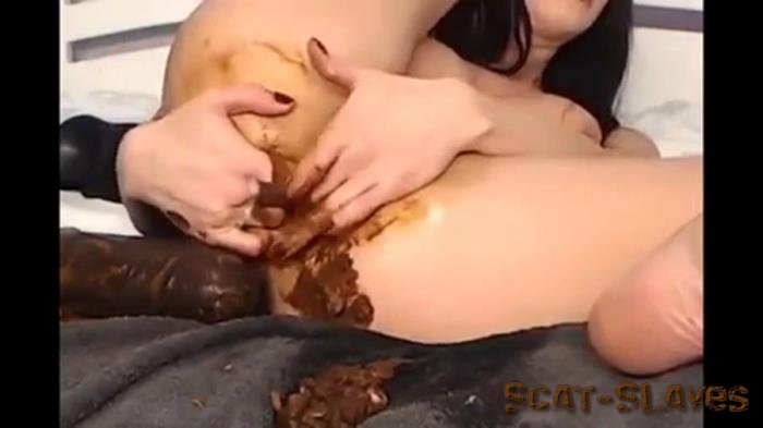 Prolapse: (Hotkinkyjo) - Scat or Chocolate Play [FullHD 1080p] (821 MB)