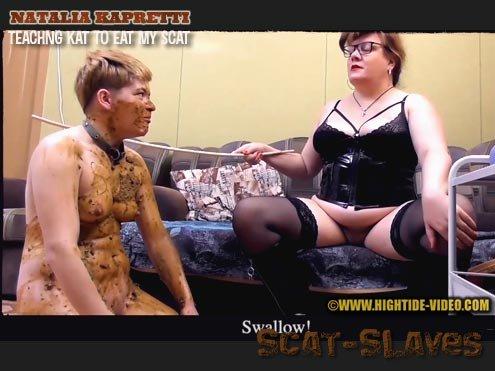 Hightide-Video: (Natalia Kapretti, Kat, 1 male) - NK06 - TEACHING KAT TO EAT MY SCAT [HD 720p] (706 MB)