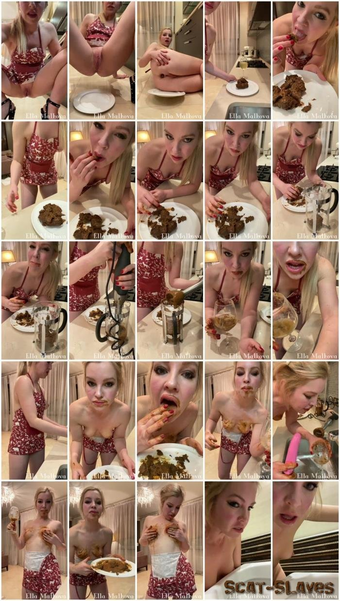 Defecation: (Scat Ella) - Eating drinking Scat, Pee and Vomit [UltraHD 2K] (911 MB)