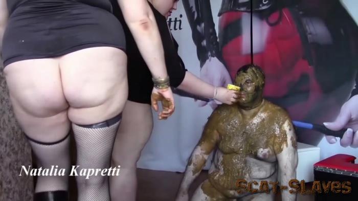 BDSM: (Natalia Kapretti) - Saliva Vomit Snot Swallow All Toilet Bowl [FullHD 1080p] (5.78 GB)