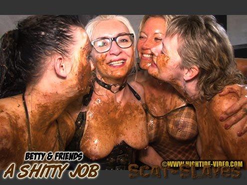 Hightide-Video.com: (Betty, Molly, Monalisa, Sexy, 2 males) - BETTY & FRIENDS - A SHITTY JOB [HD 720p] (581 MB)