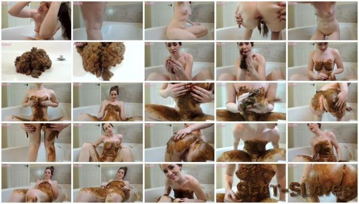 GoddessRyan.com: (Goddess Ryan) - Full Body Extreme Smear in Tub [FullHD 1080p] (772 MB)